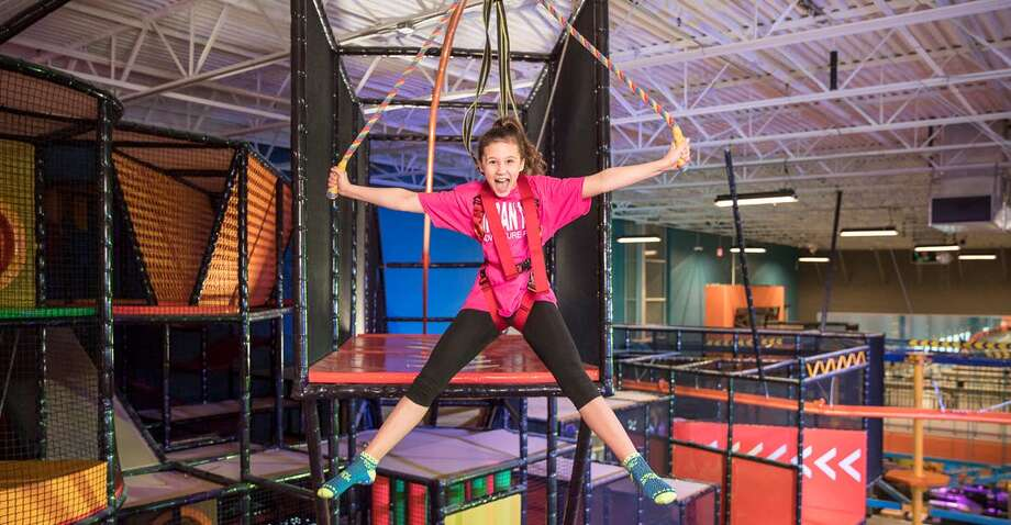 Urban Air Adventure Park Laredo will feature an indoor coaster, ropes course, climbing walls, obstacle courses and more. Photo: Courtesy Urban Air Adventure Park