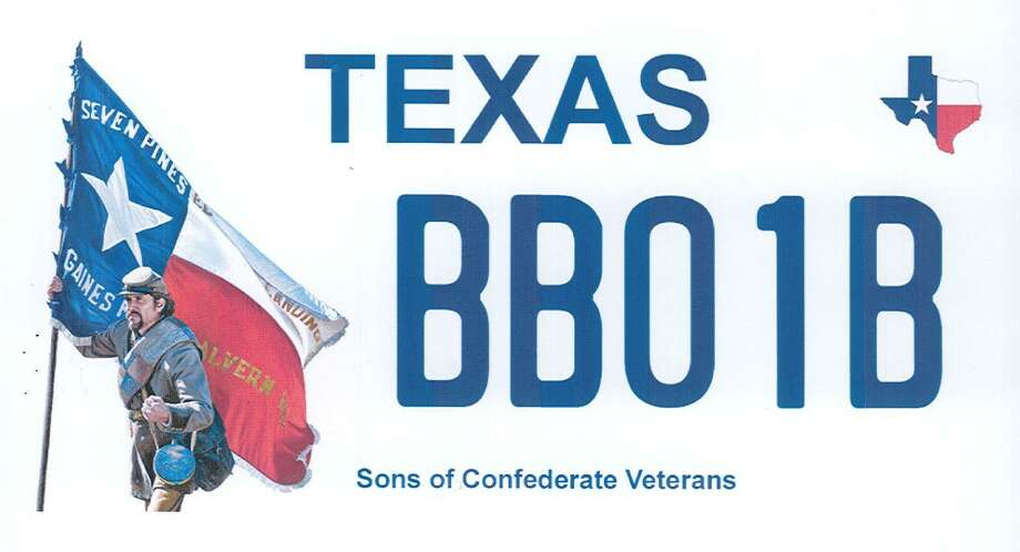 The Sons of Confederate Veterans are proposing a new license Texas license plate featuring a confederate soldier. >>Check out the license plates recently rejected by the Texas DMV... Photo: Courtesy Of The Texas Department Of Motor Vehicles