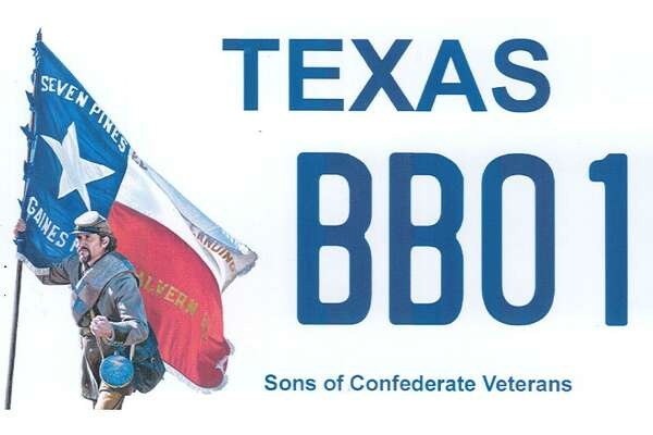 The Sons of Confederate Veterans are proposing a new license Texas license plate featuring a confederate soldier.