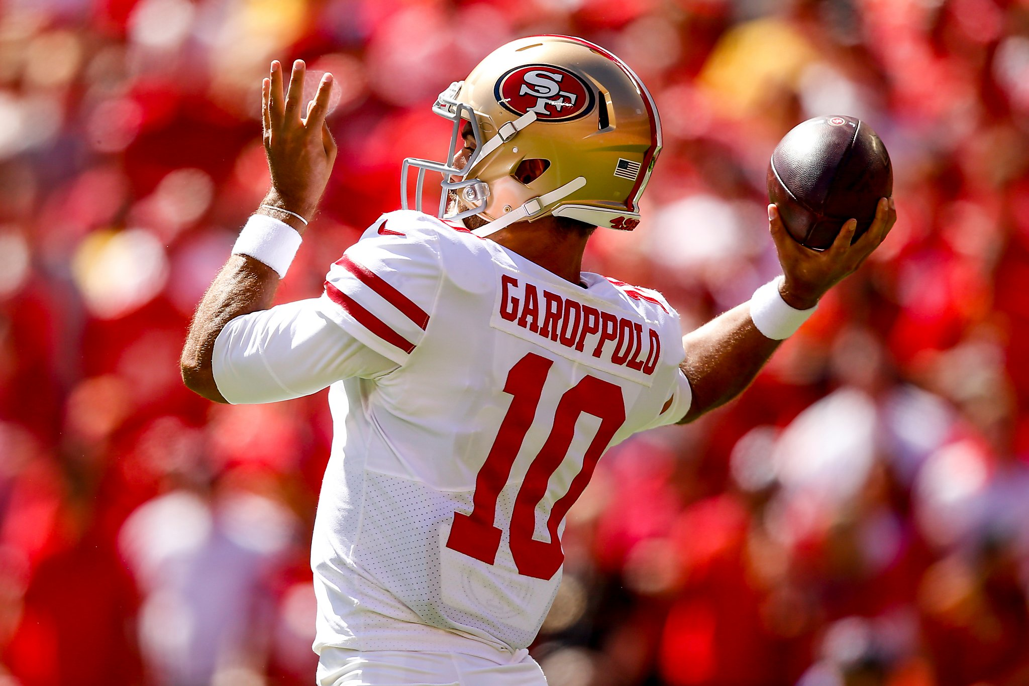 hot sale online aac88 136e6 Garoppolo-less 49ers pushed out of prime-time game vs. Rams ...
