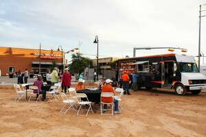 Downtown Odessa, Inc.'s third annual fundraiser Tap into Downtown Odessa was Saturday. The craft beer and wine tasting festival featured fall-themed tastings, live music and food truck vendors.
