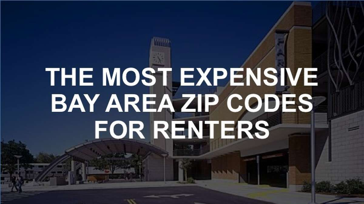 Check out the gallery for the most expensive Bay Area zip codes for renters, according to RentCafe.