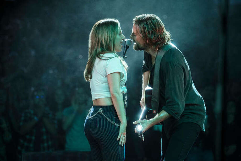 "This image released by Warner Bros. Pictures shows Lady Gaga, left, and Bradley Cooper in a scene from ""A Star is Born."" Photo: Clay Enos/Warner Bros. Pictures Via AP"