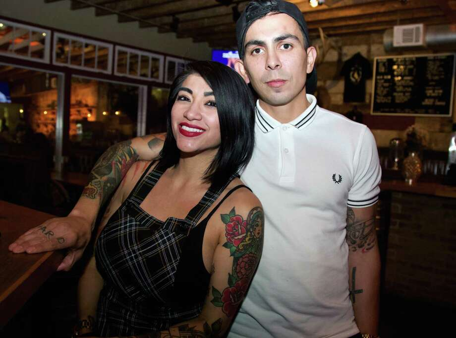 Christine Rodriguez and Frankie Rios are at Still Golden. Photo: Xelina Flores /Photo Correspondent