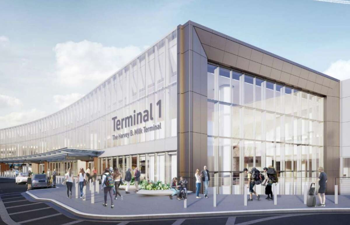 Opening next summer with a new name: Terminal 1: The Harvey B. Milk Terminal