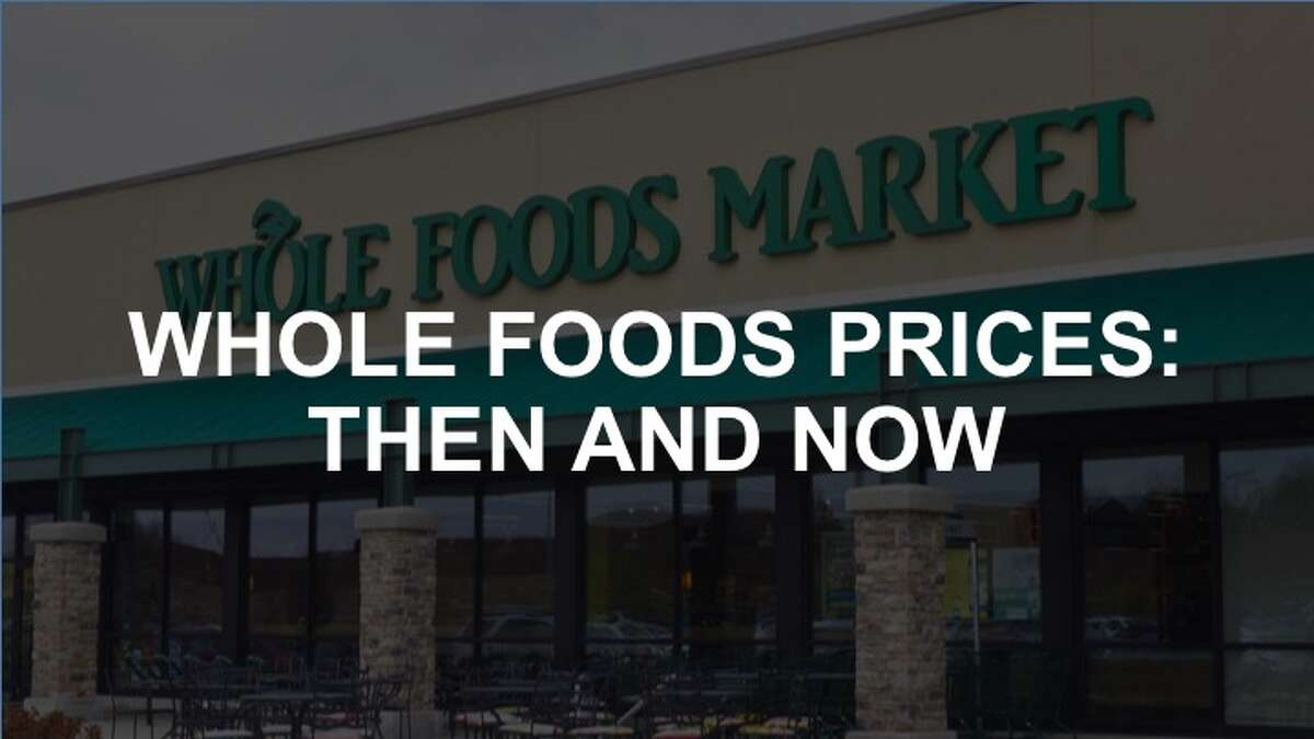 Click through the gallery to see Whole Foods - then and now.