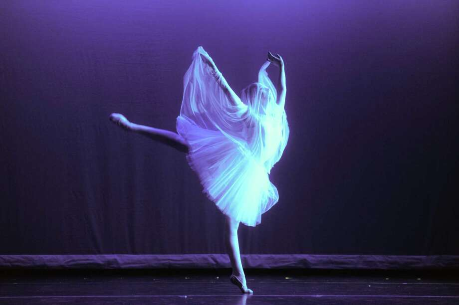 "Eastern Connecticut Ballet presents four performances of its popular and family-friendly annual performance of ""Ballet Spectacular"" on Saturday and Sunday, Oct. 13 and 14. The curtain rises at the Katharine Hepburn Cultural Arts Center in Old Saybrook at 1 and 4 p.m. both days. Dancing skeletons that glow in the dark, a malfunctioning magic wand, ghostly visions in veils and other sights will captivate young audiences. Visit www.thekate.org or call the Kate Box Office at 860-510-0453. Photo: ECB / Contributed Photo / ©2014 Thomas Giroir Photography"