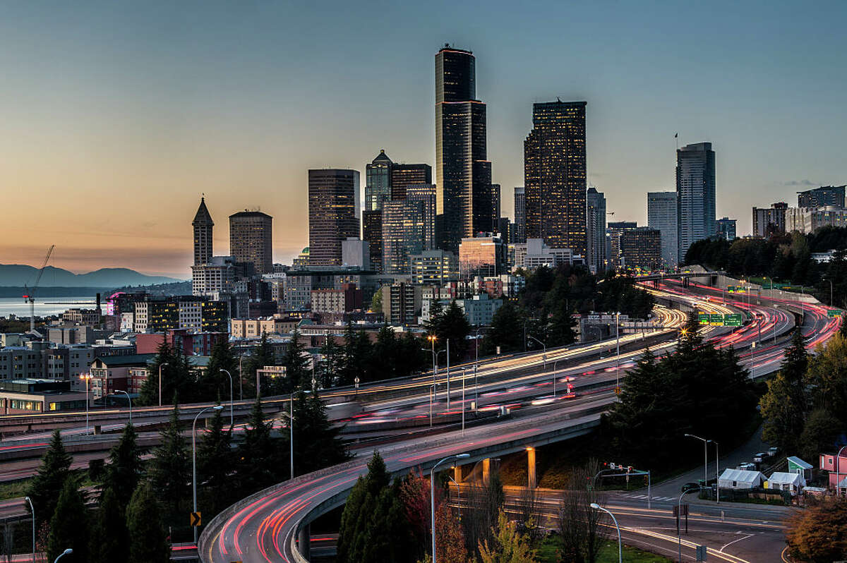 First of all, cheap shot. No one will argue that traffic gets better as you head east. We know Seattle and Tacoma both ranked among the worst cities for traffic congestion in 2018. But maybe we're all out going somewhere because we have somewhere to go.