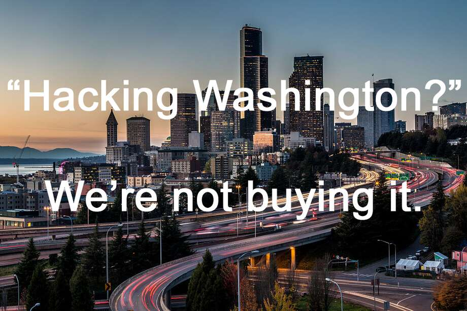 "Spokane thinks moving east is your key to ""hack"" Washington? Keep clicking to see why we're not buying it. Photo: Photo By George Rose/Getty Images"
