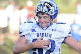 Darien's Brian Keating during a game against Greenwich in September 2015.
