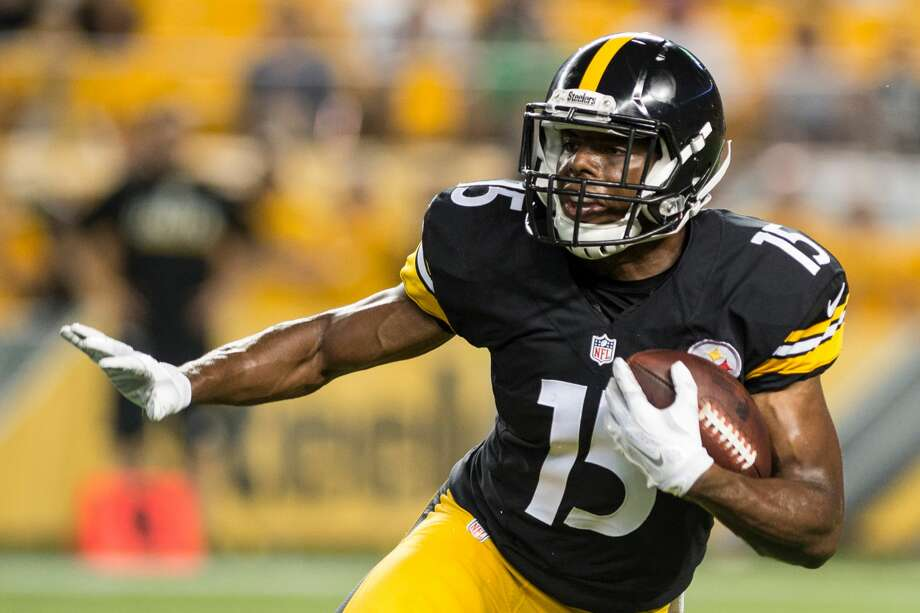 AUG 18, 2016:   Pittsburgh Steelers wide receiver Marcus Tucker (15) during the preseason game between the Pittsburgh Steelers verses the Philadelphia Eagles at Heinz Field in Pittsburgh, PA. (Photo by Shelley Lipton/Icon Sportswire via Getty Images) Photo: Icon Sportswire/Icon Sportswire Via Getty Images