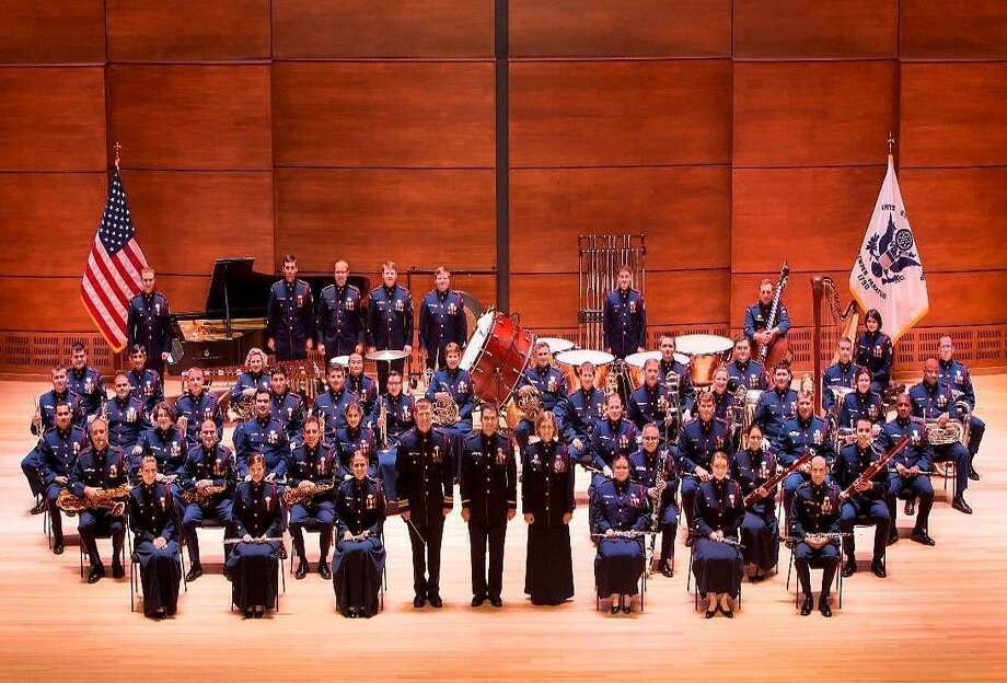 The United States Coast Guard band is performing its annual concert in Clinton, Friday, Oct. 12. Photo: Contributed Photo
