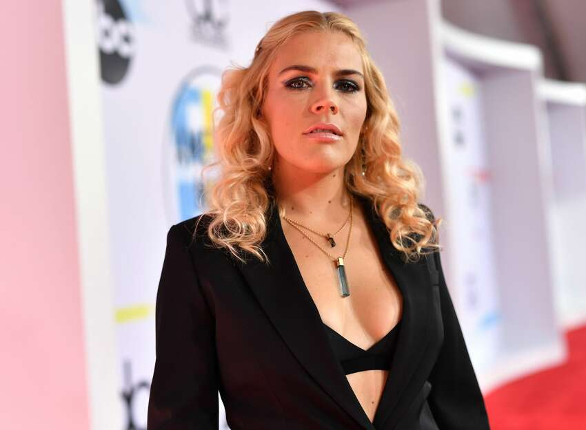 LOS ANGELES, CA - OCTOBER 09: Busy Philipps attends the 2018 American Music Awards at Microsoft Theater on October 9, 2018 in Los Angeles, California. (Photo by Emma McIntyre/Getty Images For dcp)