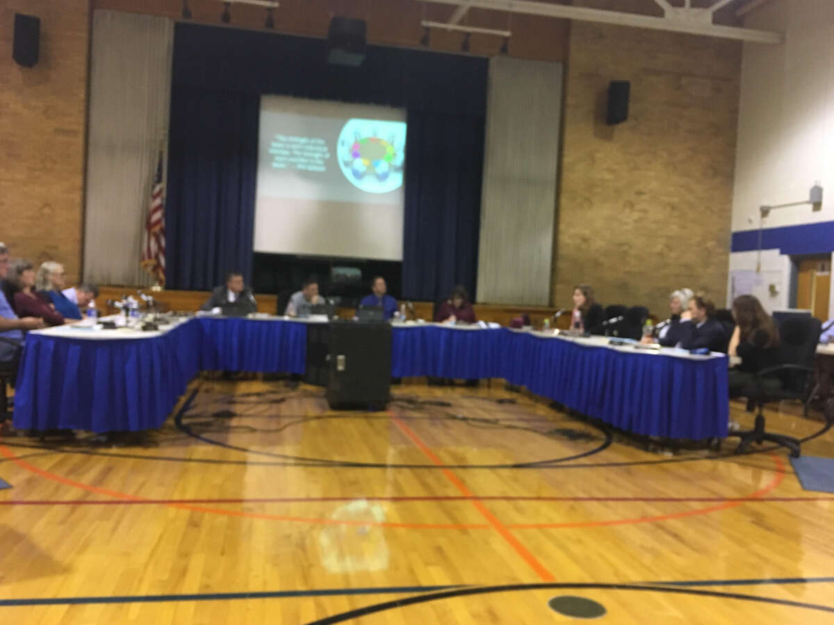 The Saratoga Springs City School board voted down a resolution for monitors to carry weapons on school grounds on Tuesday, Oct. 9 at Division Street Elementary School.