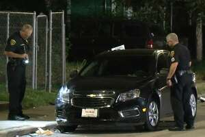 A man was shot in a drive-by on Alabama and Nagle on Wednesday, Oct. 10, 2018.