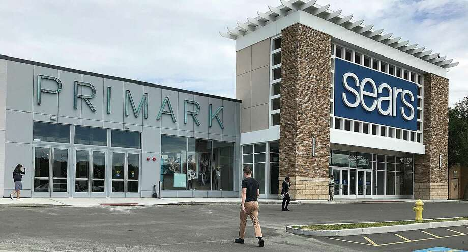 Customers head into Primark in June 2018, adjacent to Sears at Danbury Fair in Danbury, Conn. The discount apparel retailer took over space left vacant when Sears downsized its square footage at the mall. Photo: Chris Bosak / Hearst Connecticut Media / The News-Times