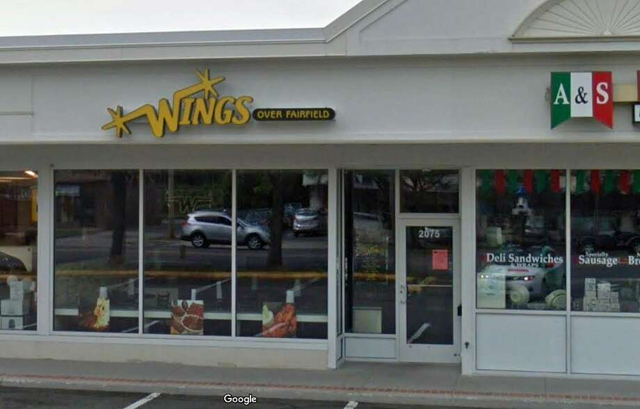 A man was critically injured after accidently shooting himself in the chest at Wings over Fairfield on Black Rock Turnpike on Tuesday, Oct. 9, 2018. Photo: Google Street View
