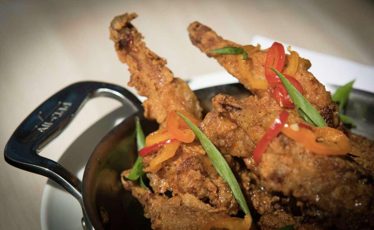Fried bandera quail with Tabasco honey at Eunice.