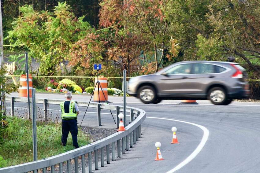 A lone National Transportation Safety Board member remained at the scene Wednesday morning of the limousine crash in Schoharie that killed 20 people on Saturday.