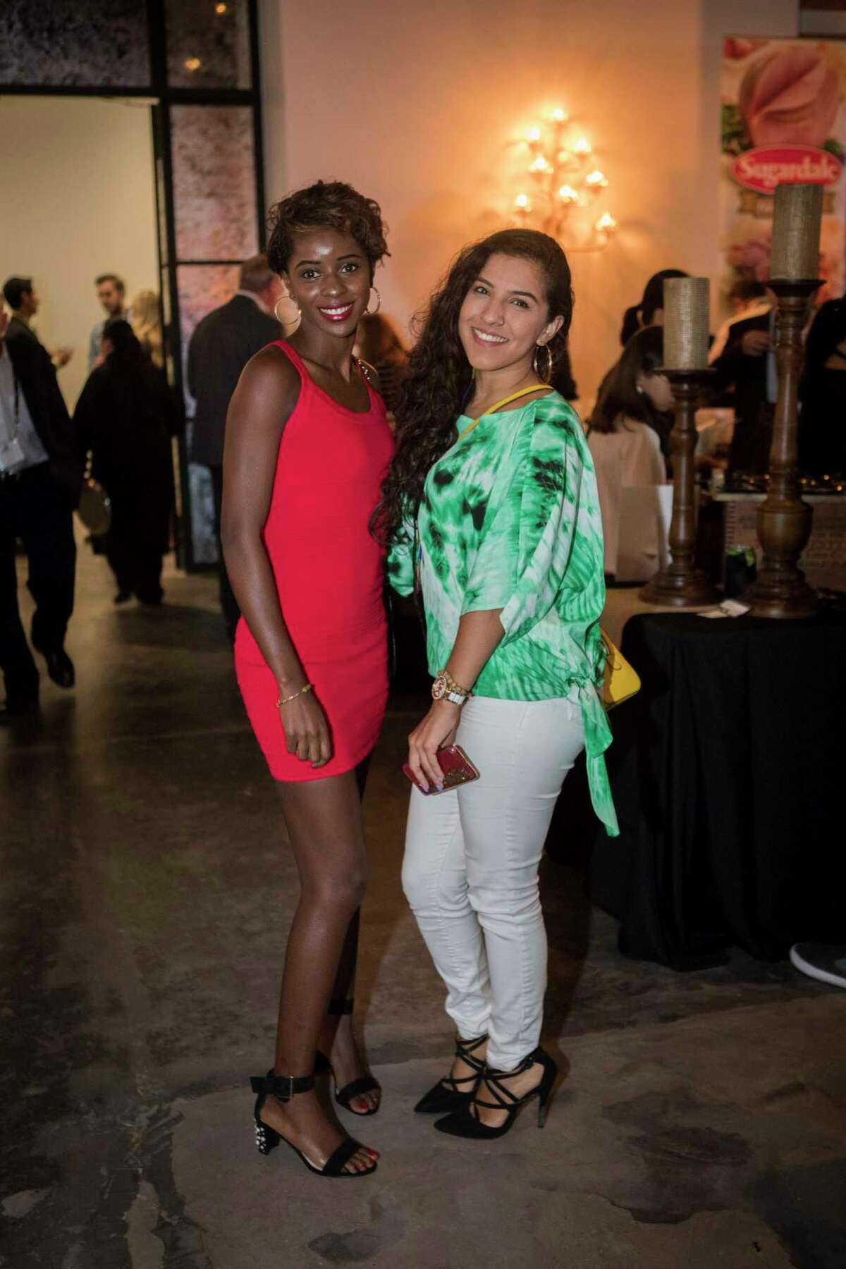 Aminata Jallow and Kimberly Serna at The Epicurean Project, Monday, Oct. 8, 2018, in Houston.