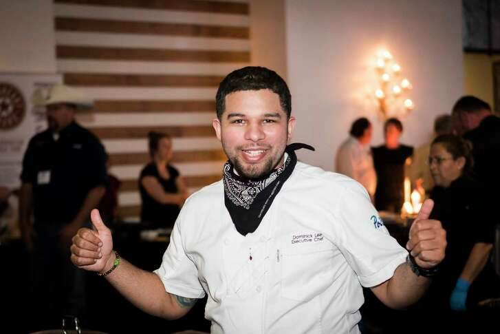 Poitín executive chef Dominick Lee at The Epicurean Project, Monday, Oct. 8, 2018, at The Revaire in Houston.