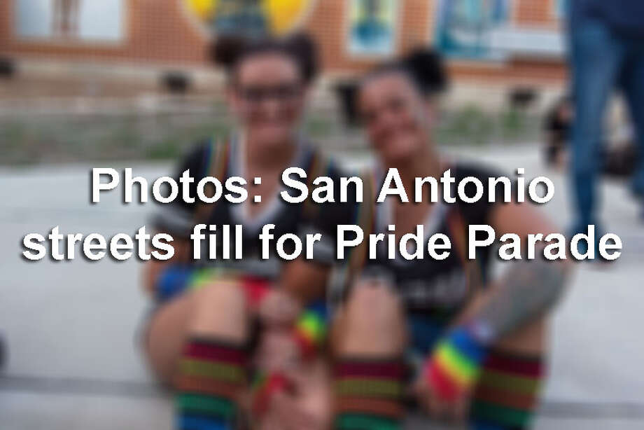 San Antonio's LGBTQ community celebrated and showed off its Pride Saturday June 30, 2018, with a parade and other activities throughout the day and night. Photo: Cassie Stricker / San Antonio Express-News