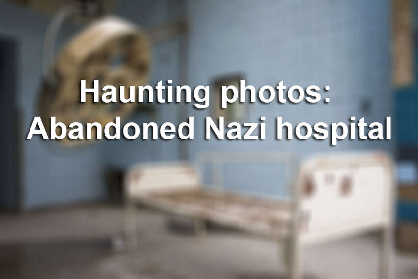 Click through for an inside look at the long-abandoned Beelitz-Heilstaetten hospital, which treated Hitler in 1916.