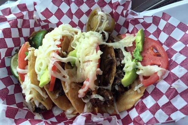 Martinez Bakery,206 E. Florida Ave, Midland Taco: Barbacoa Rating: 4.25 Price: $6.98/order of 4