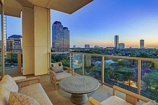 Tanglewood: 1275 S. Post Oak Lane #802  List price: $3.4 million Size: 4,647 square feet Photo: Houston Association Of Realtors