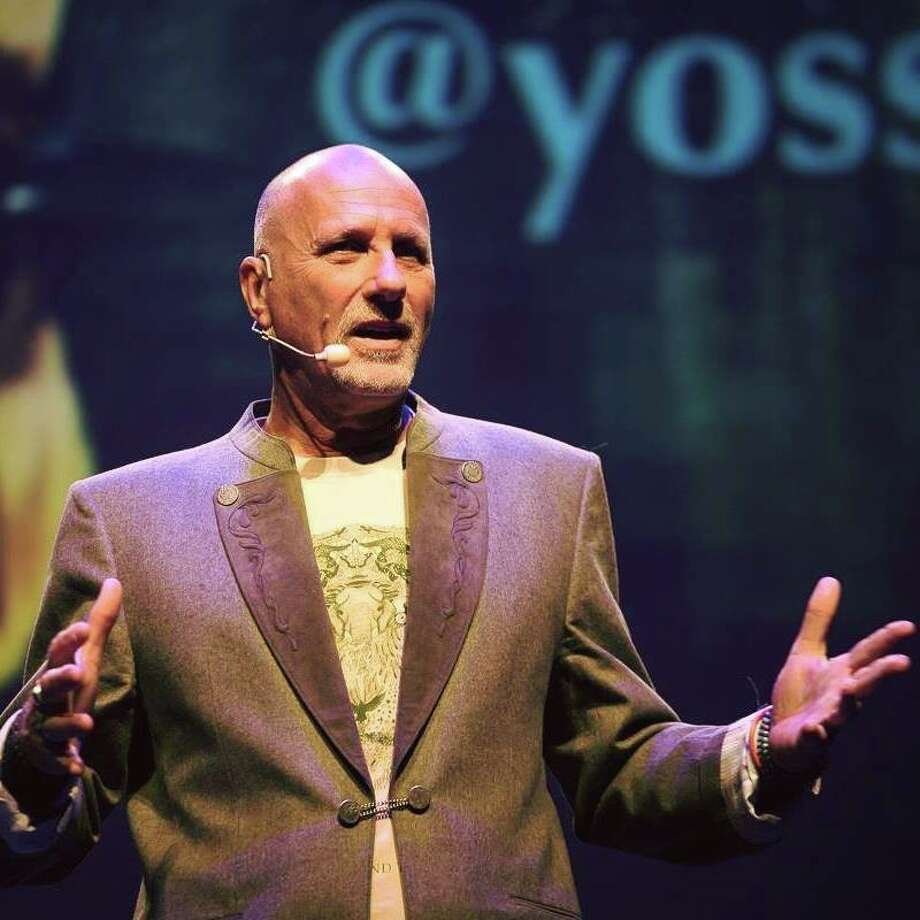 Author, adventurer and entrepreneur Yossi Ghinsberg speaks as part of the Sibley Nature Center Distinguished Lecture Series Oct. 11 at the Yucca Theatre in Midland. Photo: Courtesy