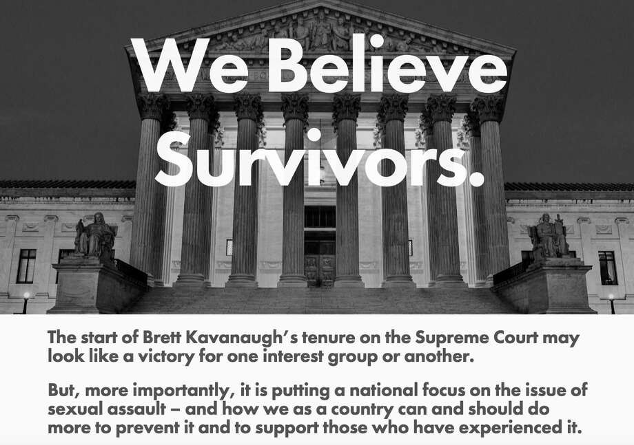 The home page of the URL brettkavanaugh.com, a web site created by the group Fix The Court Photo: Brettkavanaugh.com