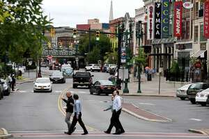People continue to invest and reinvest in downtown Schenectady. (Will Waldron / Times Union)