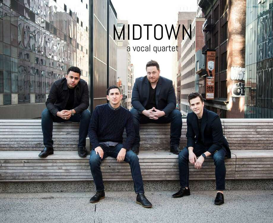 The Valley Chordsmen presents the 71st annual show, On the Sidewalks of New York Nov 10. Its featured guest is Midtown, a quartet based in Manhattan, Photo: Midtown / Contributed Photo