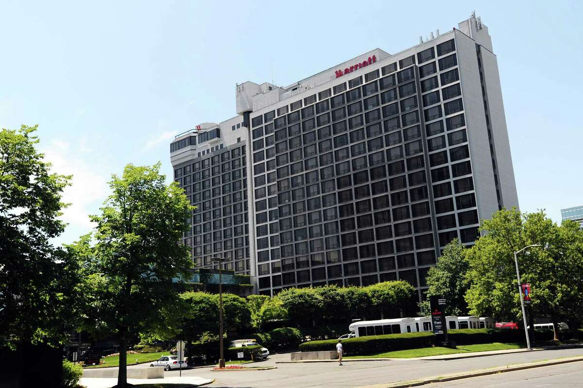 The site of the Stamford Marriott hotel at 243 Tresser Blvd., in the city's downtown, has sold for $31.6 million.