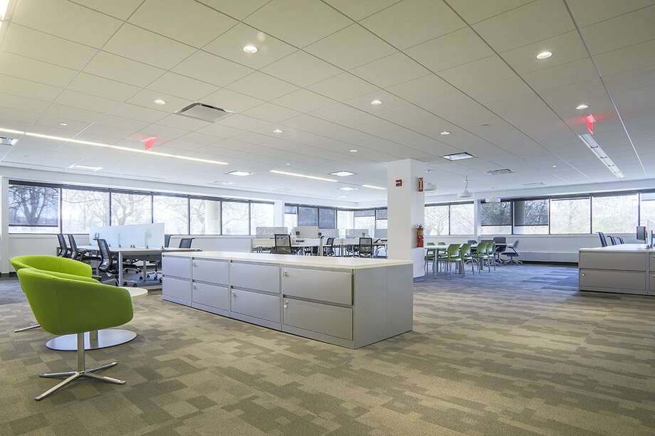 Trumbull-based design business Newbury Rain is first tenant to move into the former Unilever office building at 75 Merritt Blvd. Photo: Contributed Photo / Contributed Photo / Connecticut Post Contributed