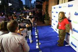 """Bigfoot"" arrives at ""The Awesomes"" VIP After-Party sponsored by Hulu and Xbox in San Diego."