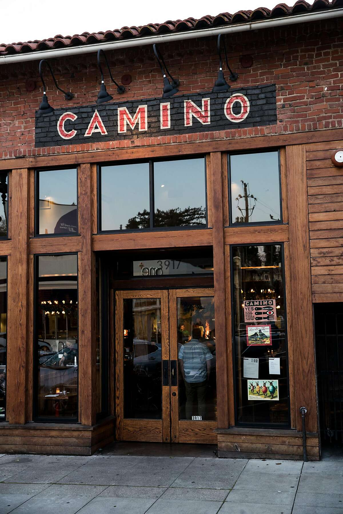 An exterior view of Camino in Oakland, Calif. on Monday, March 26, 2018.