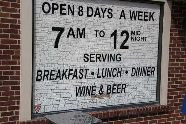 Dimitris in Ridgefield claims to be open eight days a week.