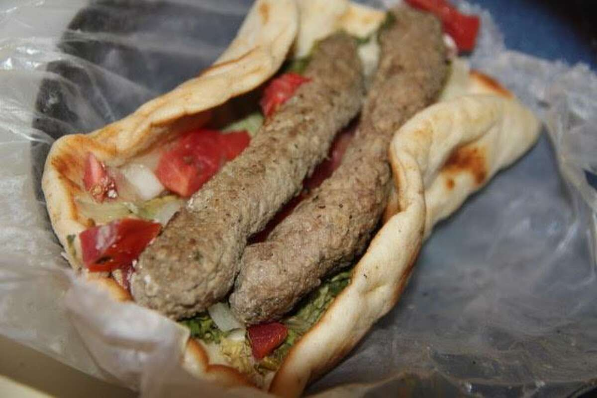 The gyro at Dimitris Diner in Ridgefield