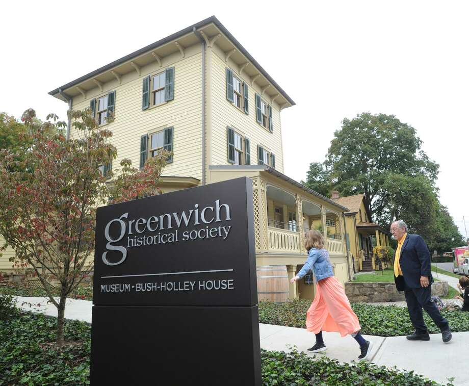 Special tours of the new buildings and grounds will be given at the Greenwich Historical Society, 47 Strickland Road, at 2:15 p.m. Oct. 14 and Oct. 21.To reserve a spot, email sflinn@greenwichhistory.org or call 203.869-6899. The tour will showcase discoveries made during construction, including historic wallpaper, an original key for Toby's Tavern and highlights from the society's collections. John Bridge will lead 45-minute tours, which are included in museum admission. Photo: Bob Luckey Jr. / Hearst Connecticut Media / Greenwich Time