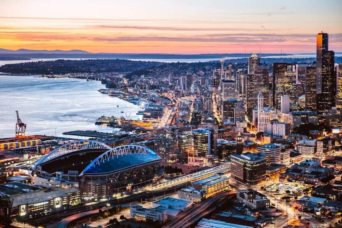 23. Seattle, WA ?-?Glassdoor City Score (out of 5): 3.9 ?-?Job Openings: 137,990 ?-?Median Base Salary: $64,000 ?-?Job Satisfaction Rating (out of 5): 3.5 ?-?Median Home Value: $492,700 ?-?Hot Jobs: Software Development Engineer, Product Manager, Barista