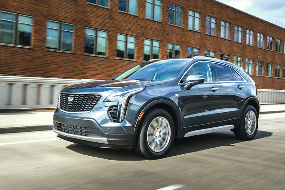This undated photo provided by General Motors shows the 2019 Cadillac XT4. The XT4 offers an extensive list of luxury upgrades and easy-to-use tech features, although those can quickly drive up the Caddy's starting price of $35,790. Photo: Associated Press