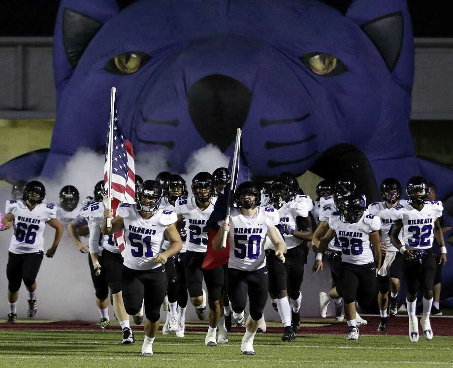 Willis takes the field before their game against Magnolia West at Magnolia West Friday, Oct. 5, 2018 in Magnolia, TX. Photo: Michael Wyke, Houston Chronicle / Contributor / © 2018 Houston Chronicle
