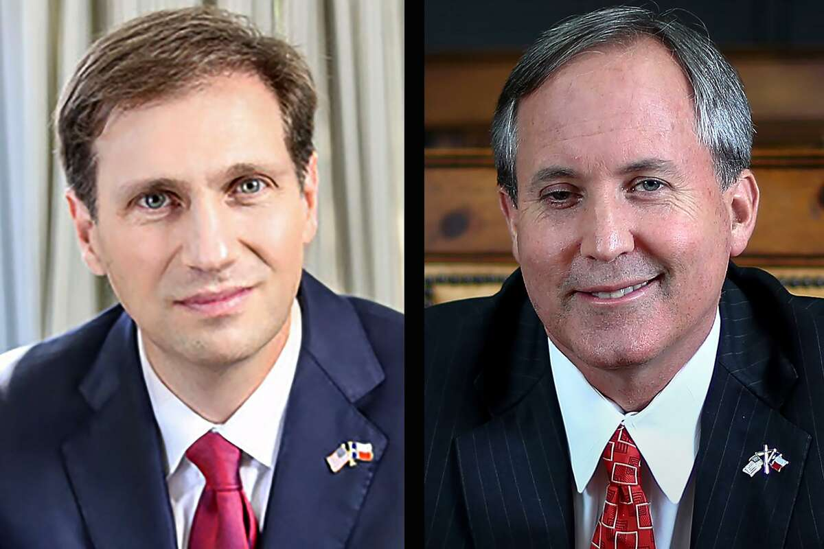 Democrat Justin Nelson, left, is running for attorney general against Republican incumbent Ken Paxton. >>See what Nelson, Paxton and other candidates are focusing on in the midterm election...