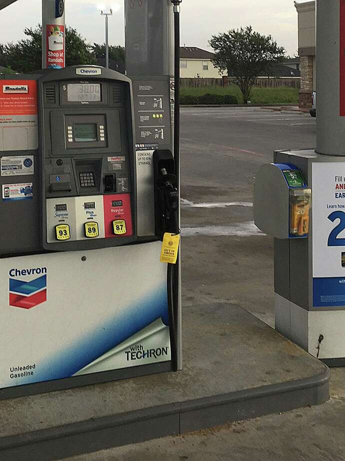 The Texas Department of Agriculture is warning Texans to be aware of their surroundings and of potential scammers after three credit card skimmers were found at Katy area Chevron. Photo: Texas Department Of Agriculture
