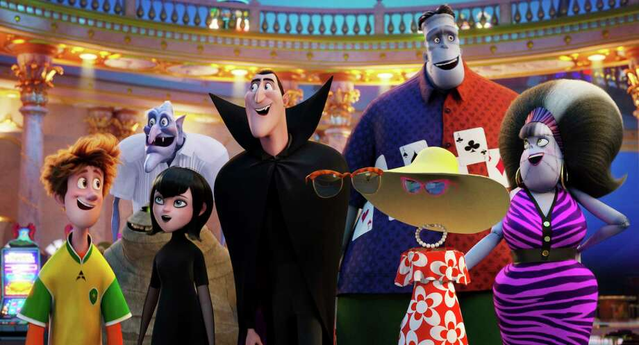 "This image released by Sony Pictures Animation shows a scene from ""Hotel Transylvania 3: Summer Vacation."" (Sony Pictures Animation via AP) / © 2017 CTMG, Inc. All Rights Reserved. **ALL IMAGES ARE PROPERTY"