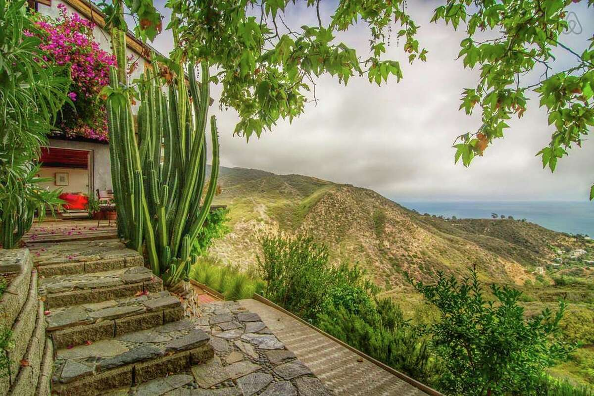 """Ocean-view Malibu Hideaway $255 per night """"A delightful experience often compared with the French Riviera, incredible ocean views. Conveniently located only 23 miles from Los Angeles International Airport (LAX), 15 minutes from Santa Monica, seconds from gorgeous beaches and mountain hikes."""""""