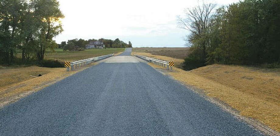 The new Heeren Bridge on Buchta Road is now open. Photo: For The Intelligencer