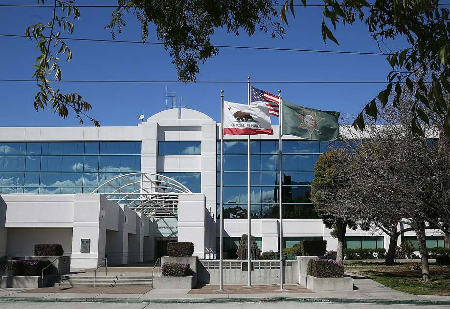Santa Clara County sheriff's deputies served a search warrant for a marijuana grow operation in unincorporated Morgan Hill on Wednesday, Oct. 10. This file photo shows the outside of the Santa Clara County Sheriff's Office seen on Thursday, March 8, 2018, in San Jose, Calif. Photo: Liz Hafalia / The Chronicle