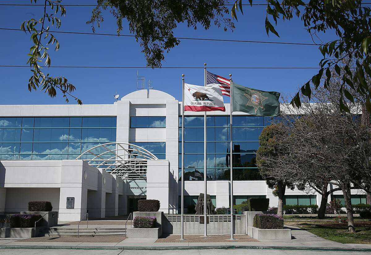 This file photograph shows the exterior of the Santa Clara County Sheriff's Office on Thursday, March 8, 2018, in San Jose, Calif.
